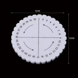 Kumihimo disk - kruhový
