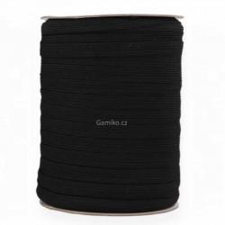 Prádlová pruženka 8 mm černá